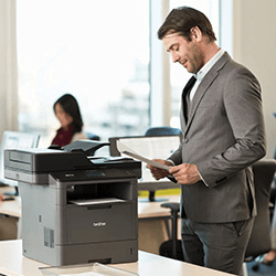 brother office and small workgroup business printer image